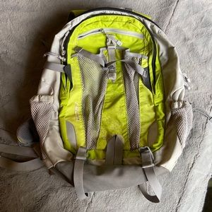 Green North Face Backpack